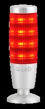 3- oder 7-farbige Signalleuchte rot