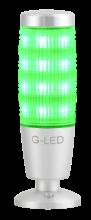 3- oder 7-farbige Signalleuchte grün