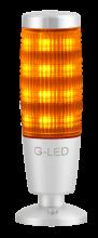 3- oder 7-farbige Signalleuchte orange